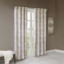 Victorio Jacquard Grommet Blackout Curtain - 865691240988