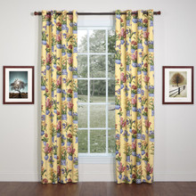 Melanie Buttercream Grommet Curtain Pair - 138641297258