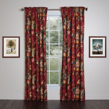 Queensland Lined Rod Pocket Curtain Pair - 138641288270