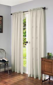 Cote D'Azure Faux Linen Curtain - 069556769830