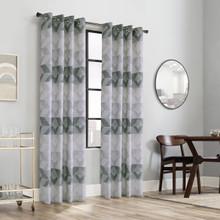 Jackson Geometric Grommet Curtain - 069556578661