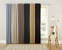 Oslo Theater Grade Extreme 100% Blackout Grommet Curtain - 029927524857