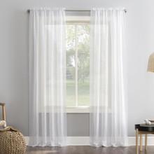 Elsa Crushed Voile Sheer Curtain - 029927259094
