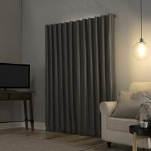 Evelina Faux Dupioni Silk Thermal Extreme 100% Blackout Curtain - 029927562392