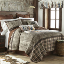 Bear Mirage Quilt Collection -