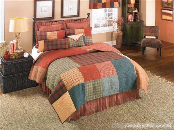 Campfire Square Quilt Collection -