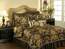 Lismore Black Bedding Collection -
