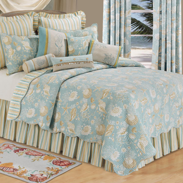 Natural Shells Quilt Collection -