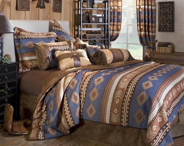 Sierra Blue Bedding Collection -