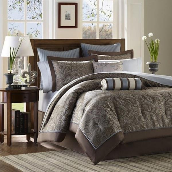 Aubrey Blue Bedding Collection -