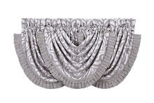 Luxembourg Silver Waterfall Valance - 846339039751