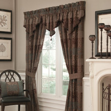 Galleria Brown Curtains - 830130768286