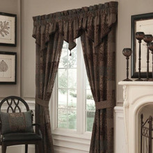 Galleria Brown Valance - 830130768354