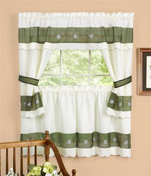 Berkshire Cottage Tier Curtain Set -