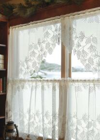Woodland Lace Tier Curtain - 734573045549
