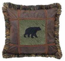 Autumn Trails Bear Pillow - 35731113644
