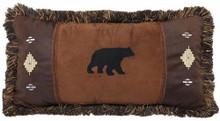 Autumn Trails Bear and Diamond Pillow - 35731113637