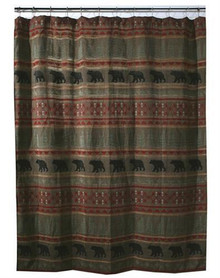 Bear Country Shower Curtain - 35731107582