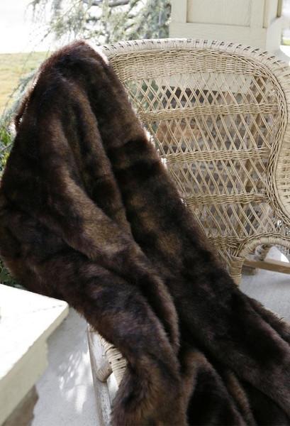 Bear Country Faux Fur Throw - 35731121946