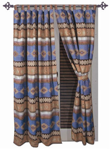 Sierra Blue Curtains - 357311078724