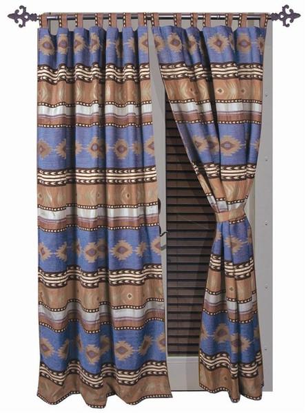 Sierra Blue Curtains - 357311078724