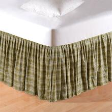 Holly Plaid Bed Skirt - 164925093650