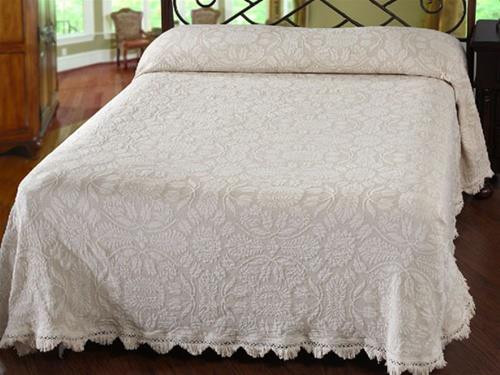 Colonial Rose Bedspread - 184195005801
