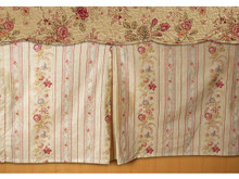 Antique Rose Bed Skirt - 636047339201