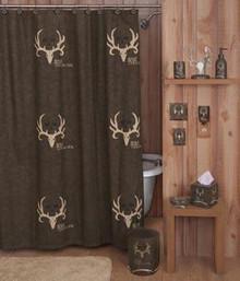 Bone Collector Shower Curtain Set -