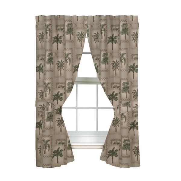 Palm Grove Curtains -