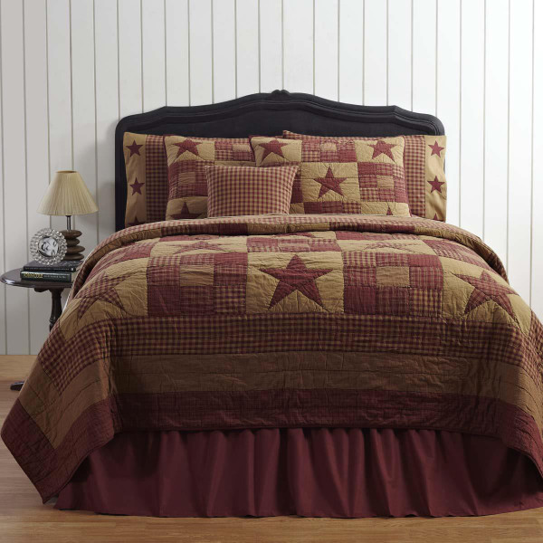 Ninepatch Star Quilt Collection -