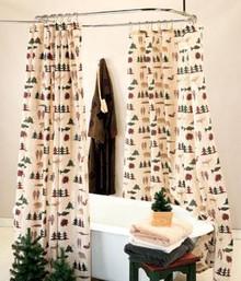 Northern Exposure Shower Curtain -