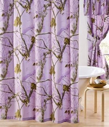 All Purpose Camo Shower Curtain -