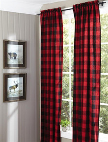 Buffalo Check Curtains - 762242366329