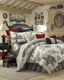 Bouvier Black Comforter Set - 13864100014