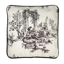 Bouvier Black Toile Pillow - 13864100335