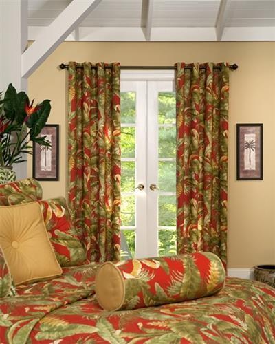 Captiva Tropical Curtains & Valances -