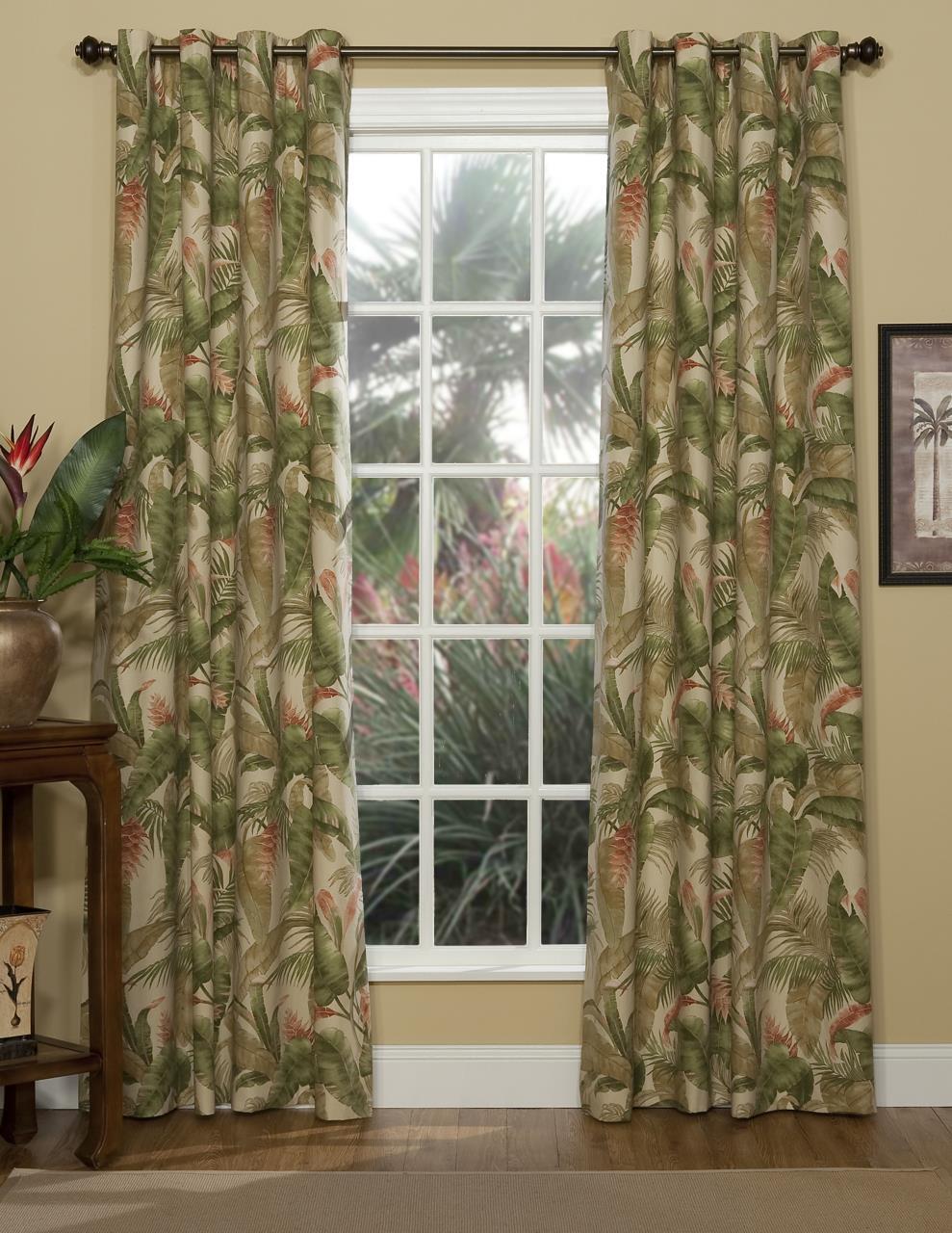 La Selva Natural Grommet Curtains - 138641050198