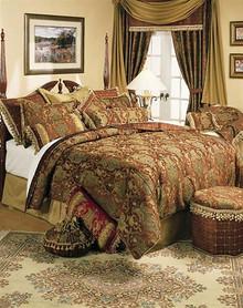 China Art Brown Comforter Set - 719294319773