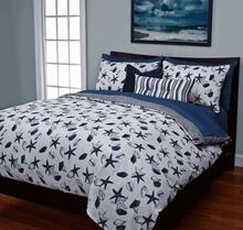 Shell Bay Blue Duvet Set -