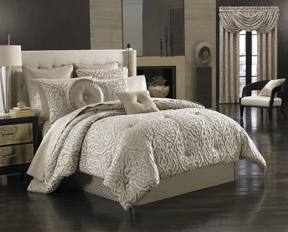 Astoria Sand Comforter Set - 846339047411