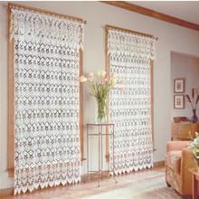 Medallion Macrame Curtain Panel - 748779066314