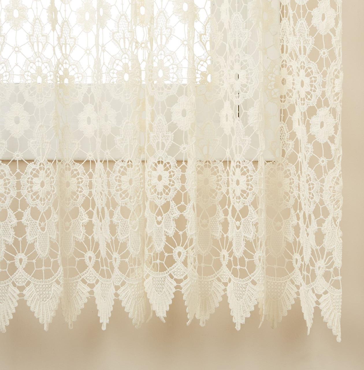 Medallion Macrame Curtain -