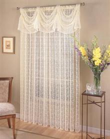 Priscilla Bridal Lace Curtain - 748779196318