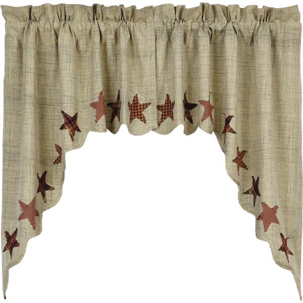 Abilene Star Swag Set - 840528110627