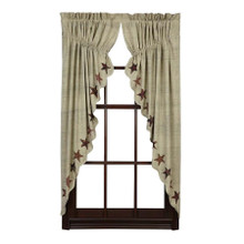 Abilene Star Prairie Curtain - 840528110504