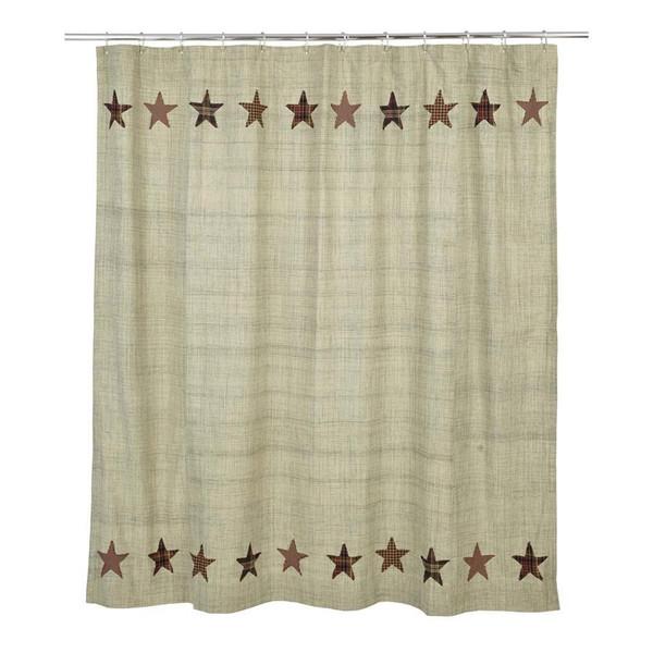 Abilene Star Shower Curtain - 840528110788
