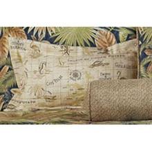 Bahamian Nights Boudoir Pillow -