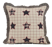 Bingham Star Applique Pillow - 840528152511
