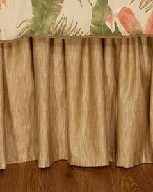 La Selva Natural Bed Skirt - 13864104852